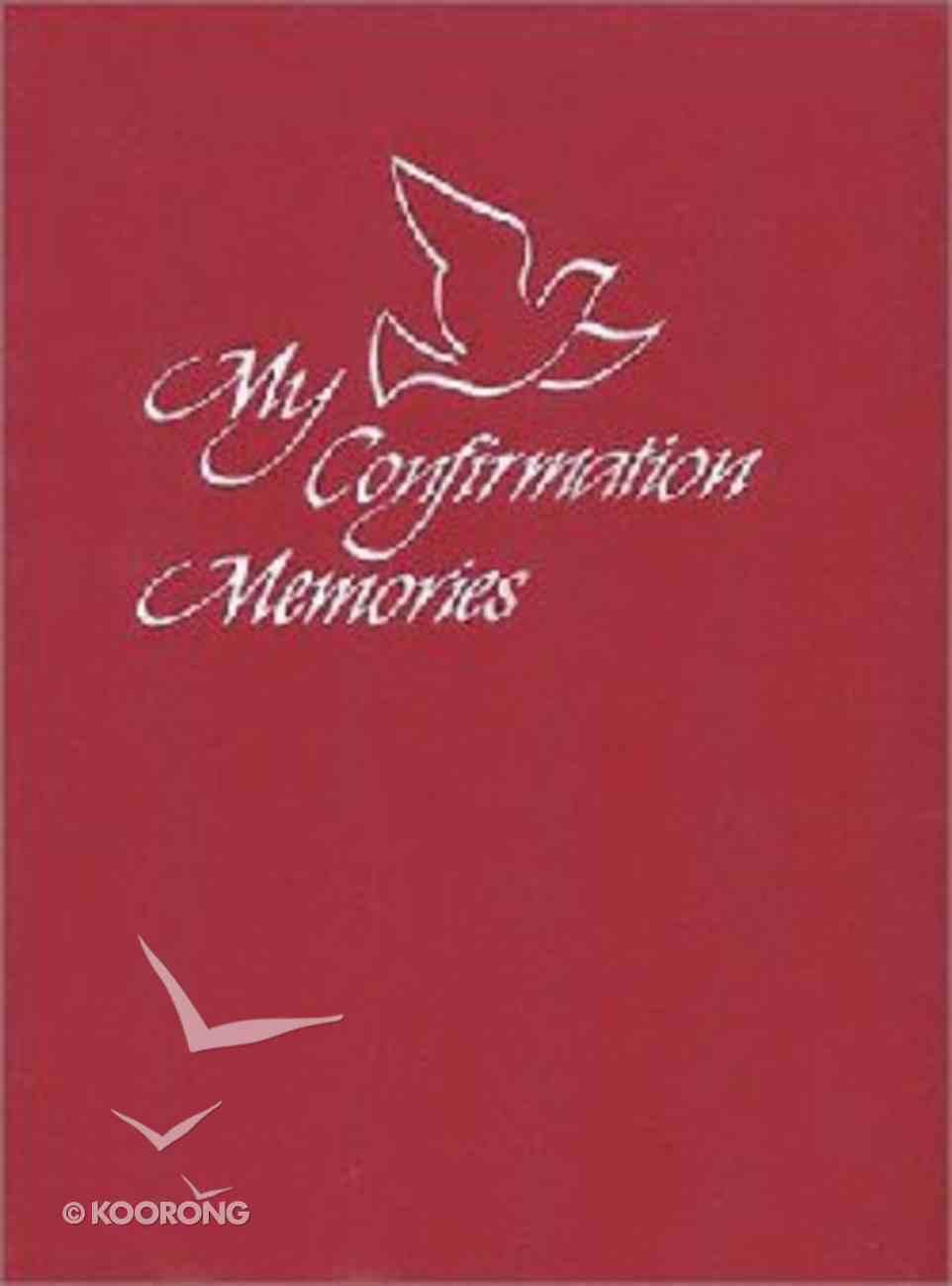 My Confirmation Memories Hardback