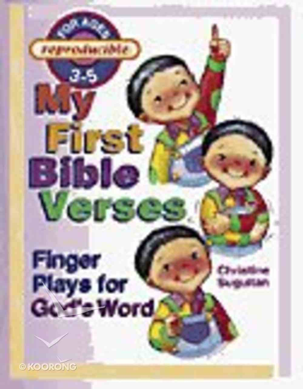 My First Bible Verses Paperback