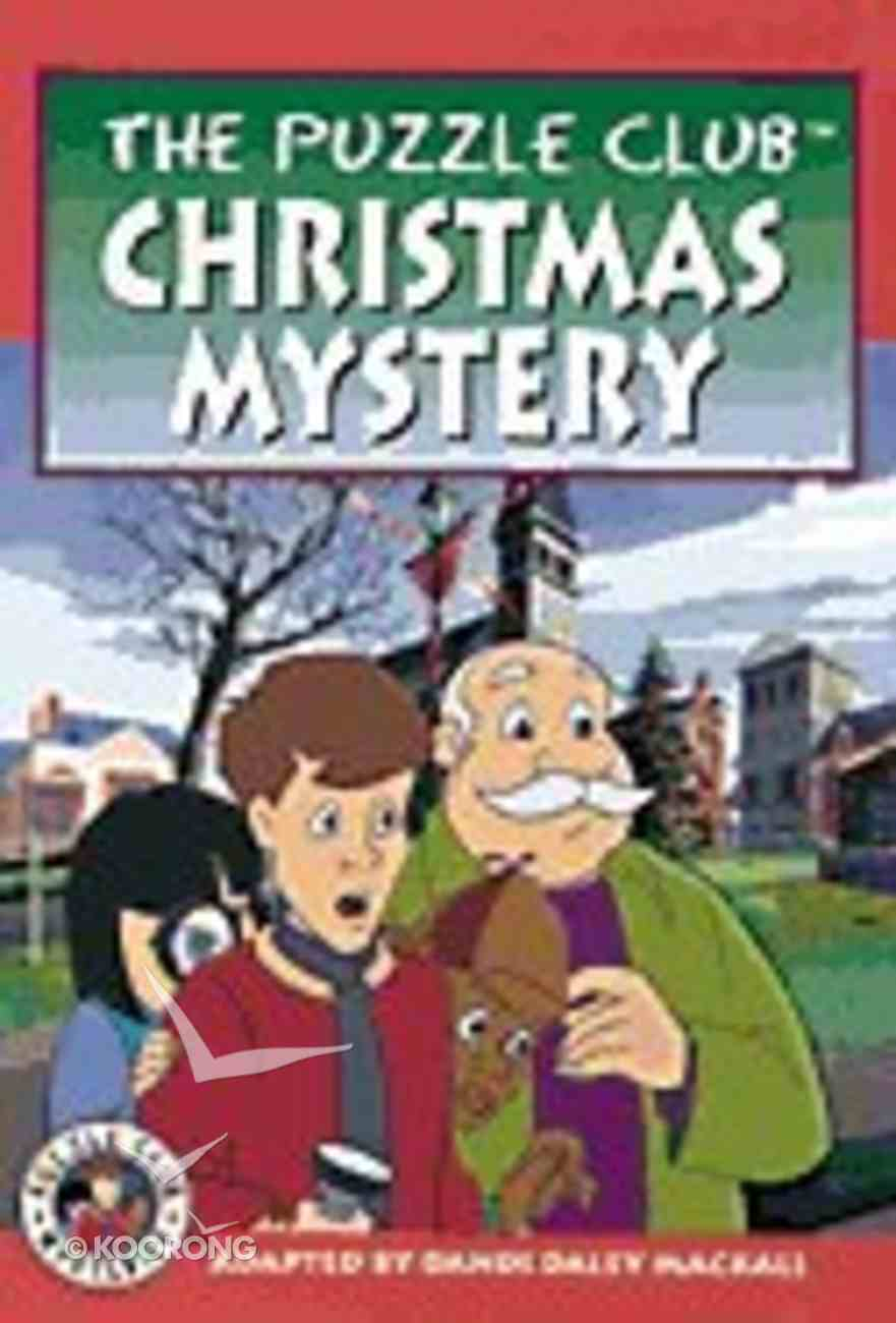 Christmas Mystery (#01 in Puzzle Club Mysteries Series) Paperback