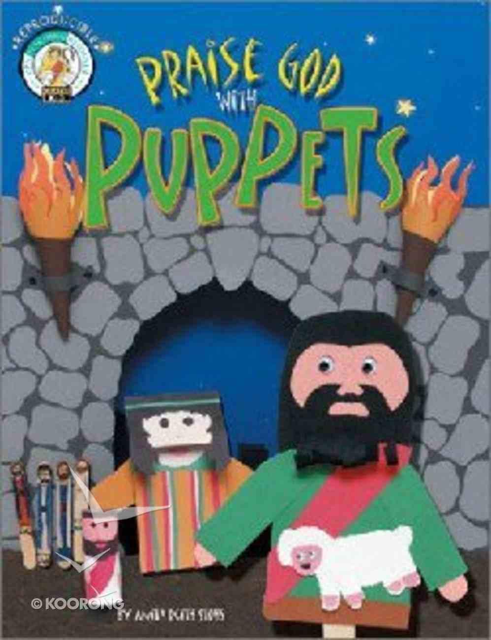 Praise God With Puppets Hardback