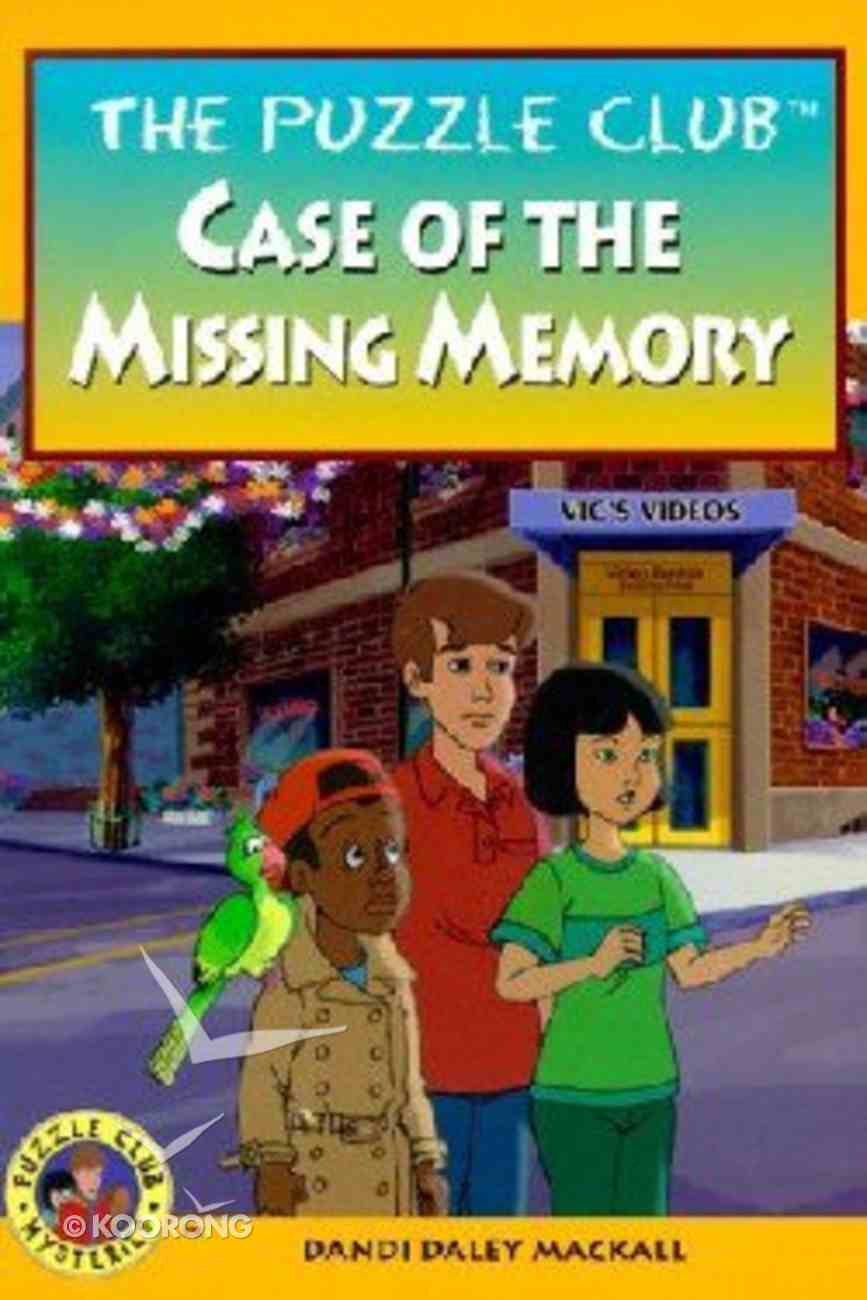 Case of the Missing Memory (#08 in Puzzle Club Mysteries Series) Paperback