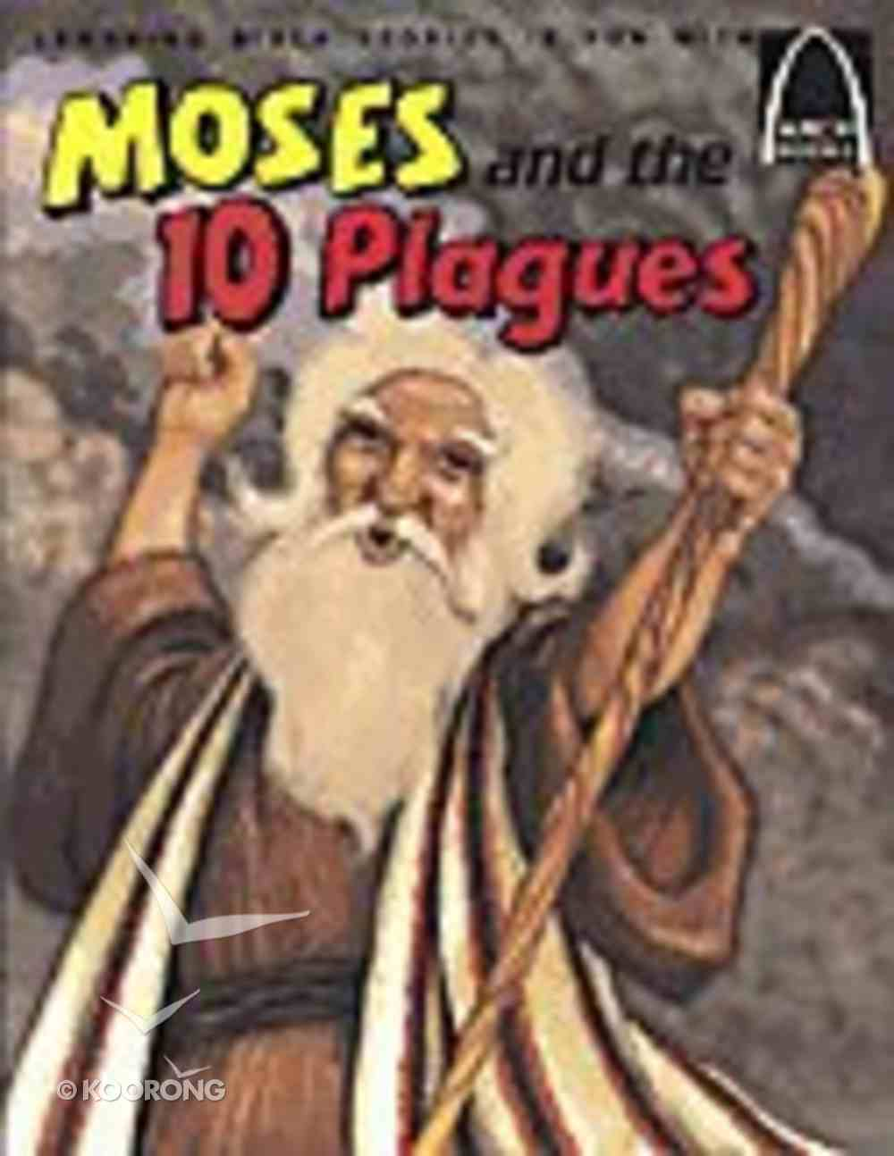 Moses and the 10 Plagues (Arch Books Series) Paperback