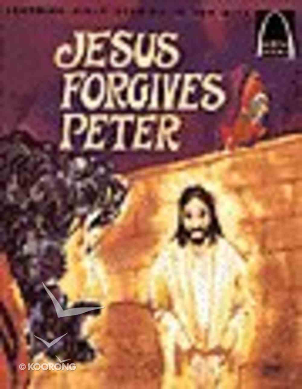 Jesus Forgives Peter (Arch Books Series) Paperback