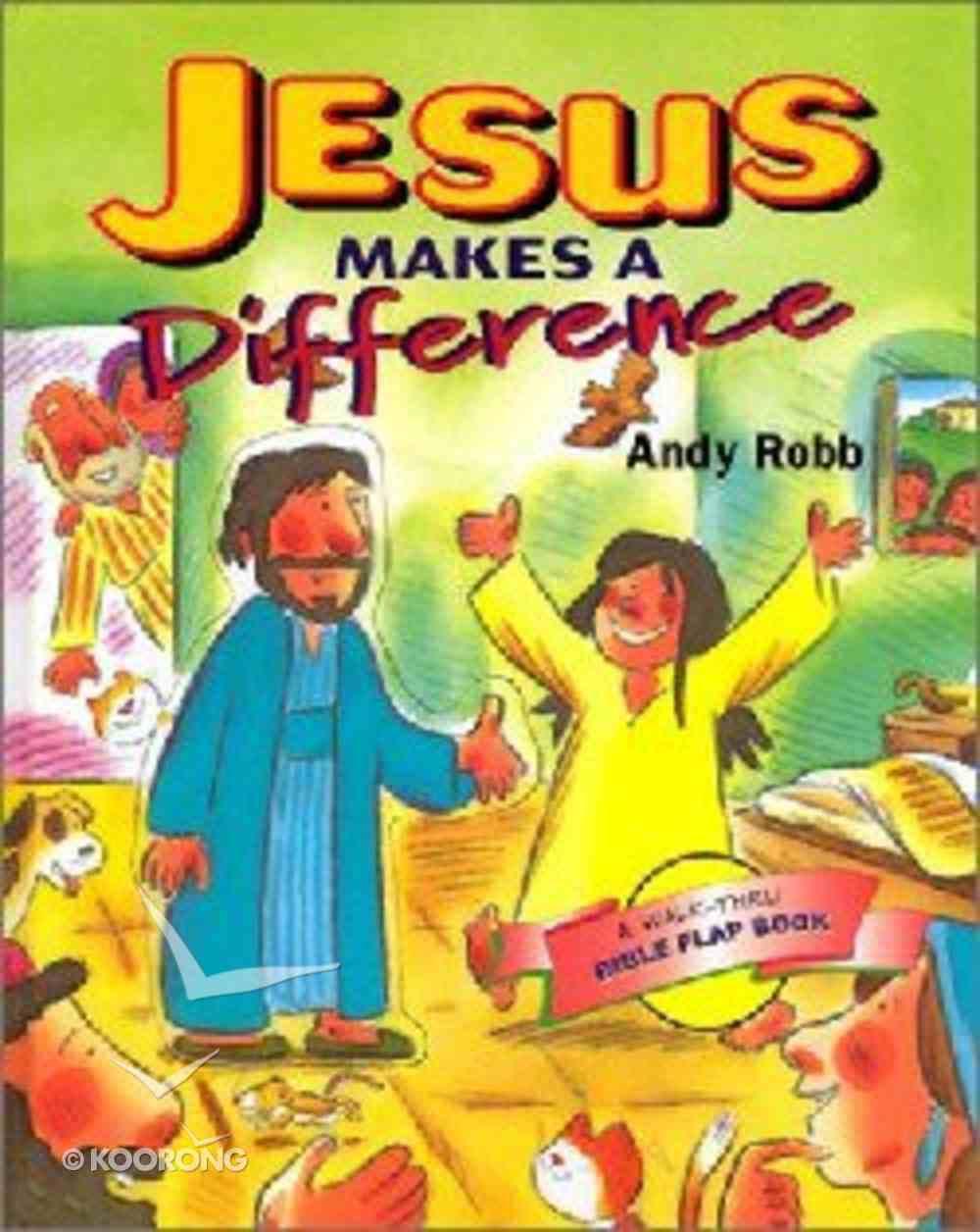 Jesus Makes a Difference Hardback