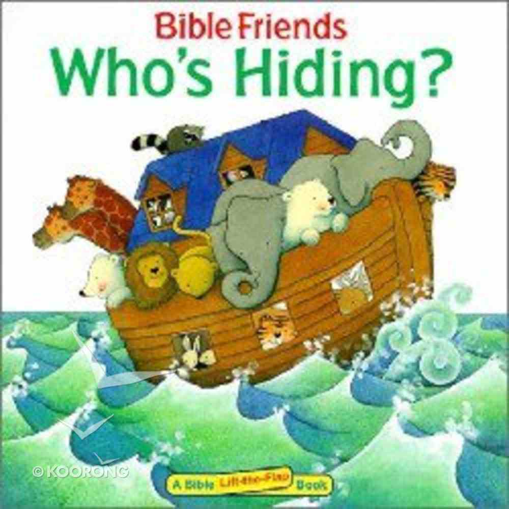 Who's Hiding? Paperback