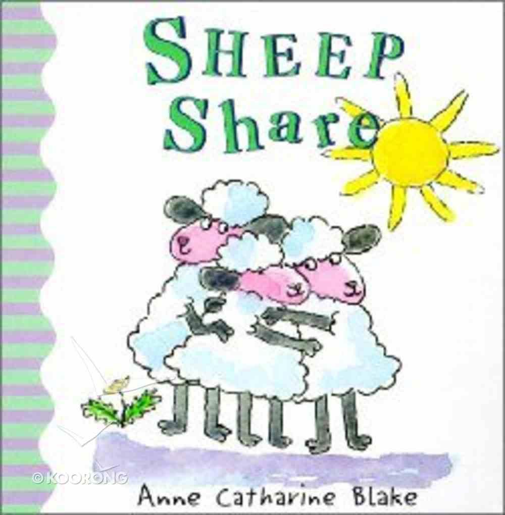 Sheep Share Board Book