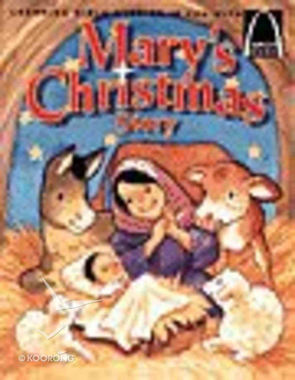 Mary's Christmas Story (Arch Books Series) Paperback