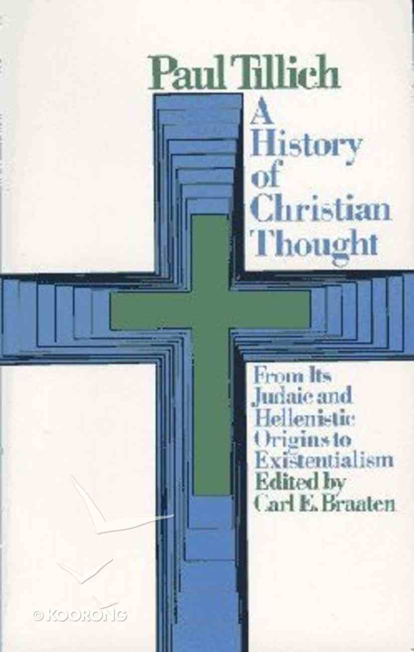History of Christian Thought Paperback