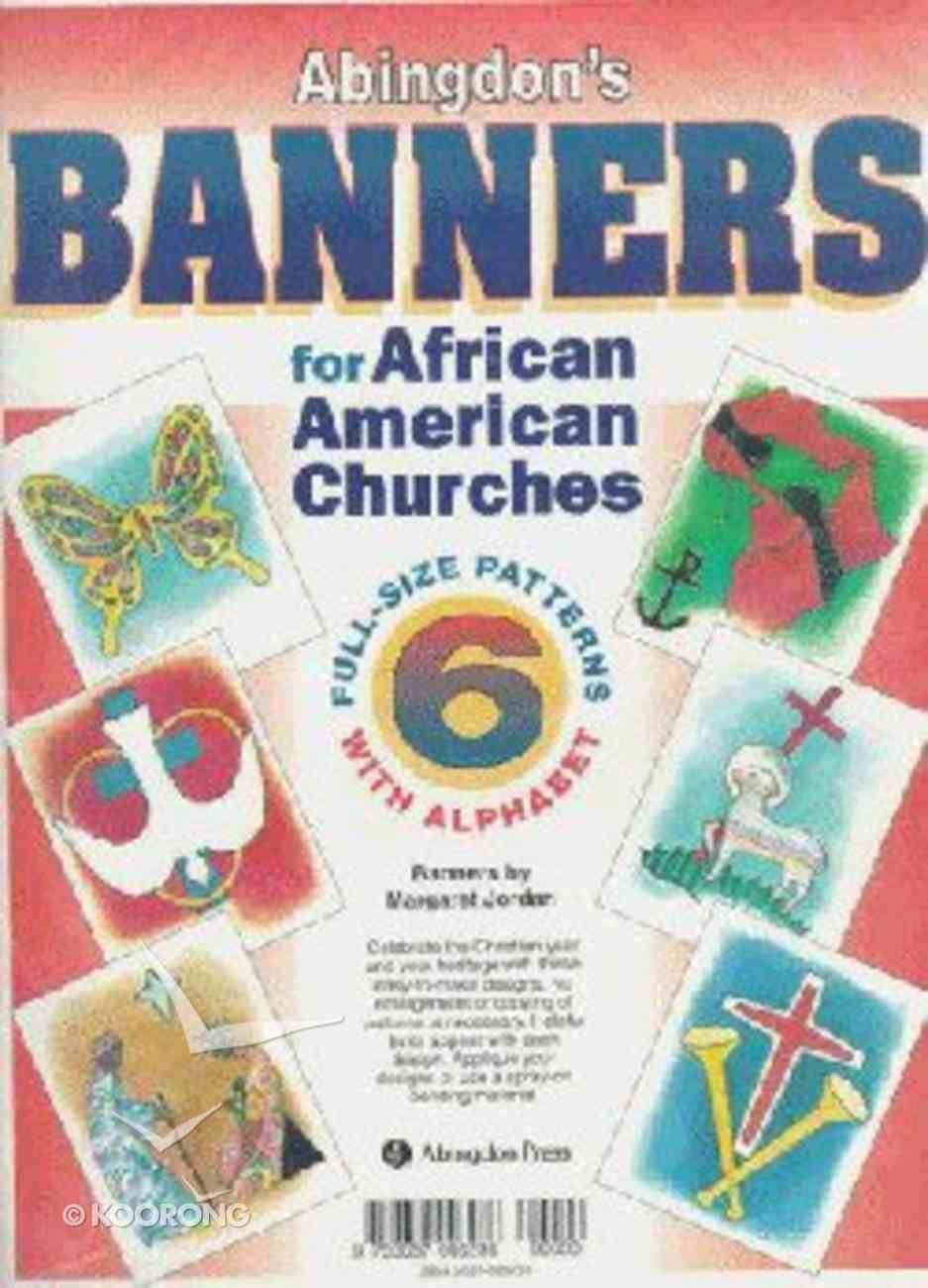 Abingdon's Banners For African American Churches Paperback