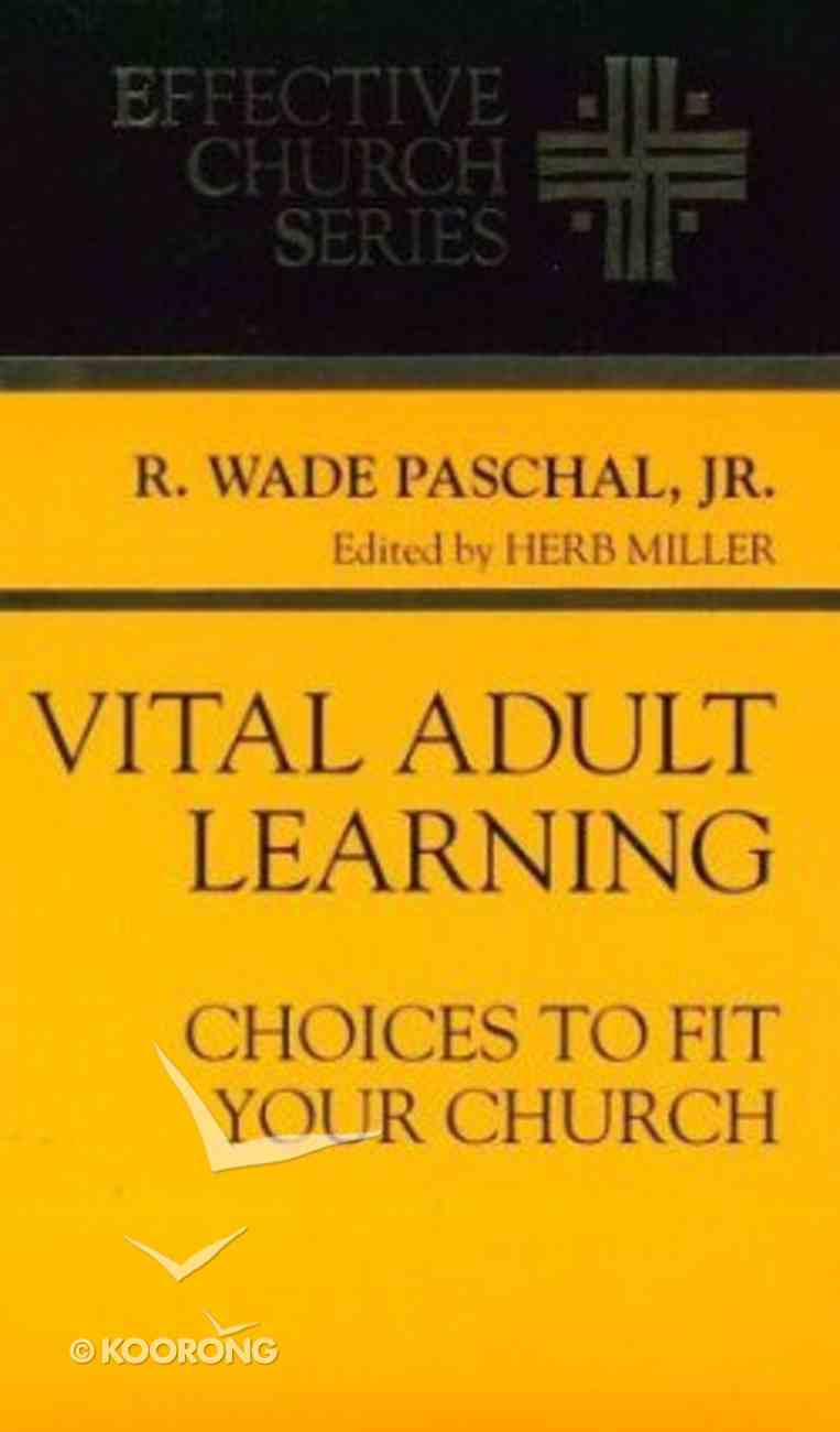 Vital Adult Learning Paperback