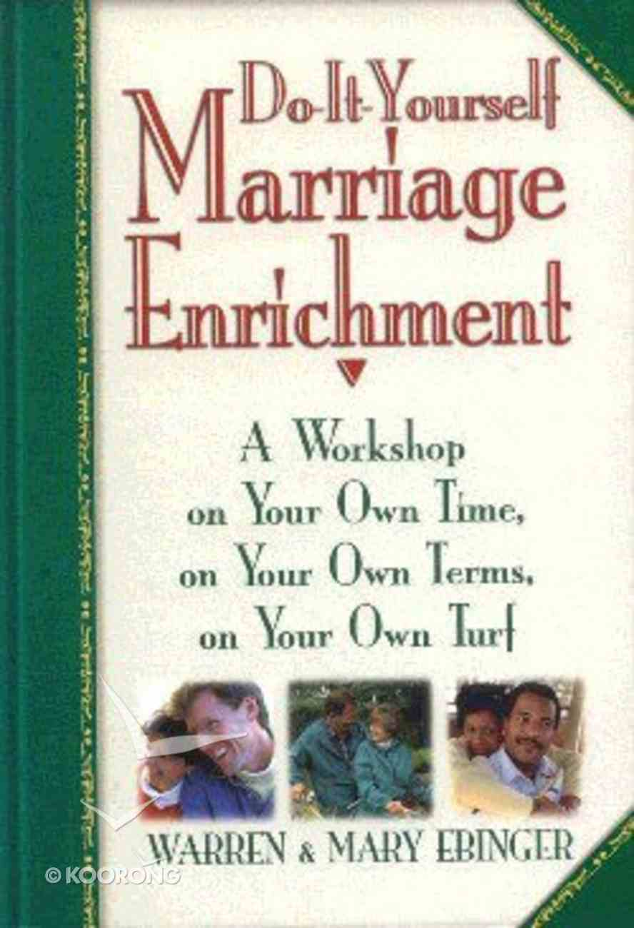 Do-It-Yourself Marriage Enrichment Paperback