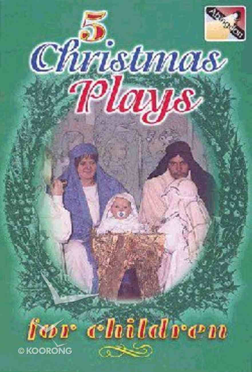 5 Christmas Plays For Children Paperback