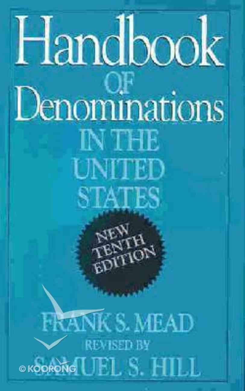Handbook of Denominations in the United States (10th Edition) Hardback