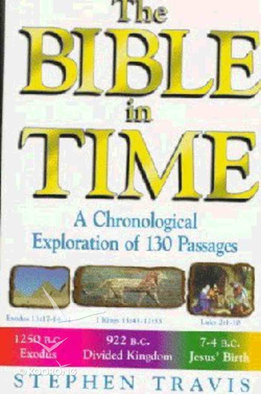 The Bible in Time Paperback