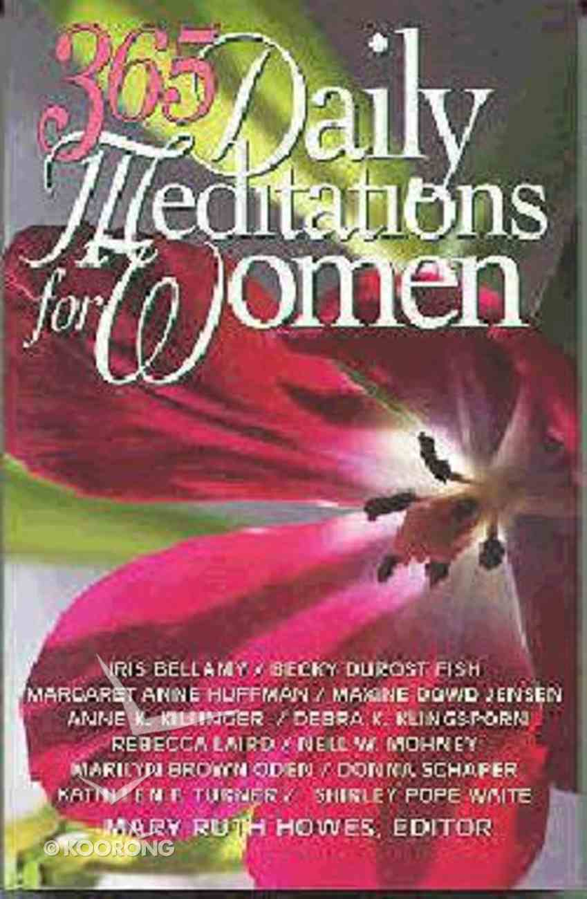 365 Daily Meditations For Women Paperback