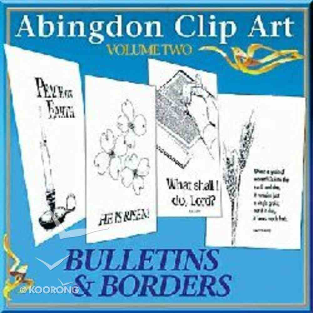 Abingdon Clip Art #02: Bulletins & Borders CDROM Win/Mac CD-rom