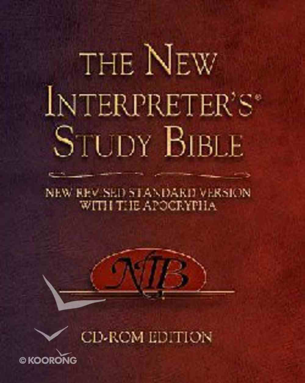 New Interpreter's Study Bible CDROM Win Mac Vista Compatible CD-rom