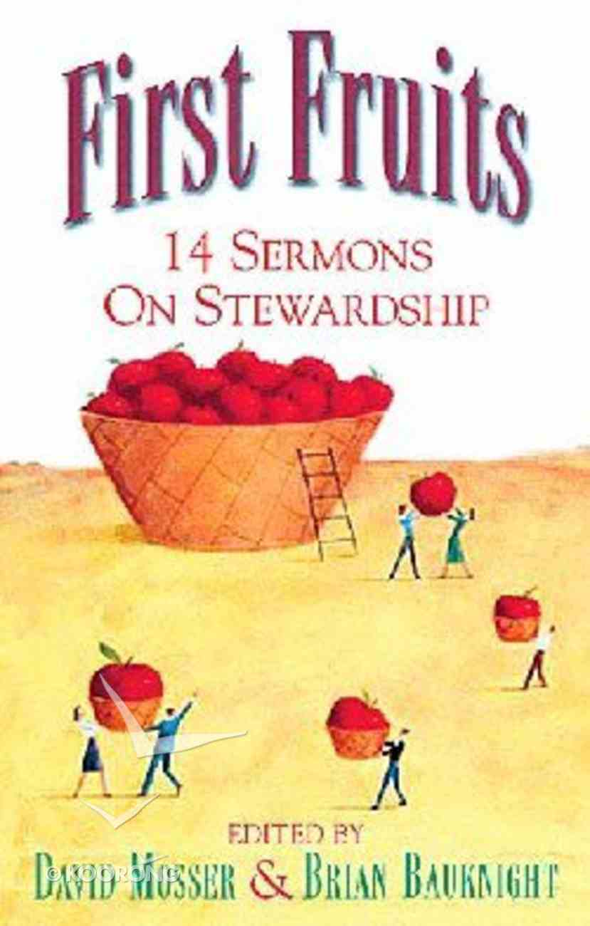 First Fruits Paperback