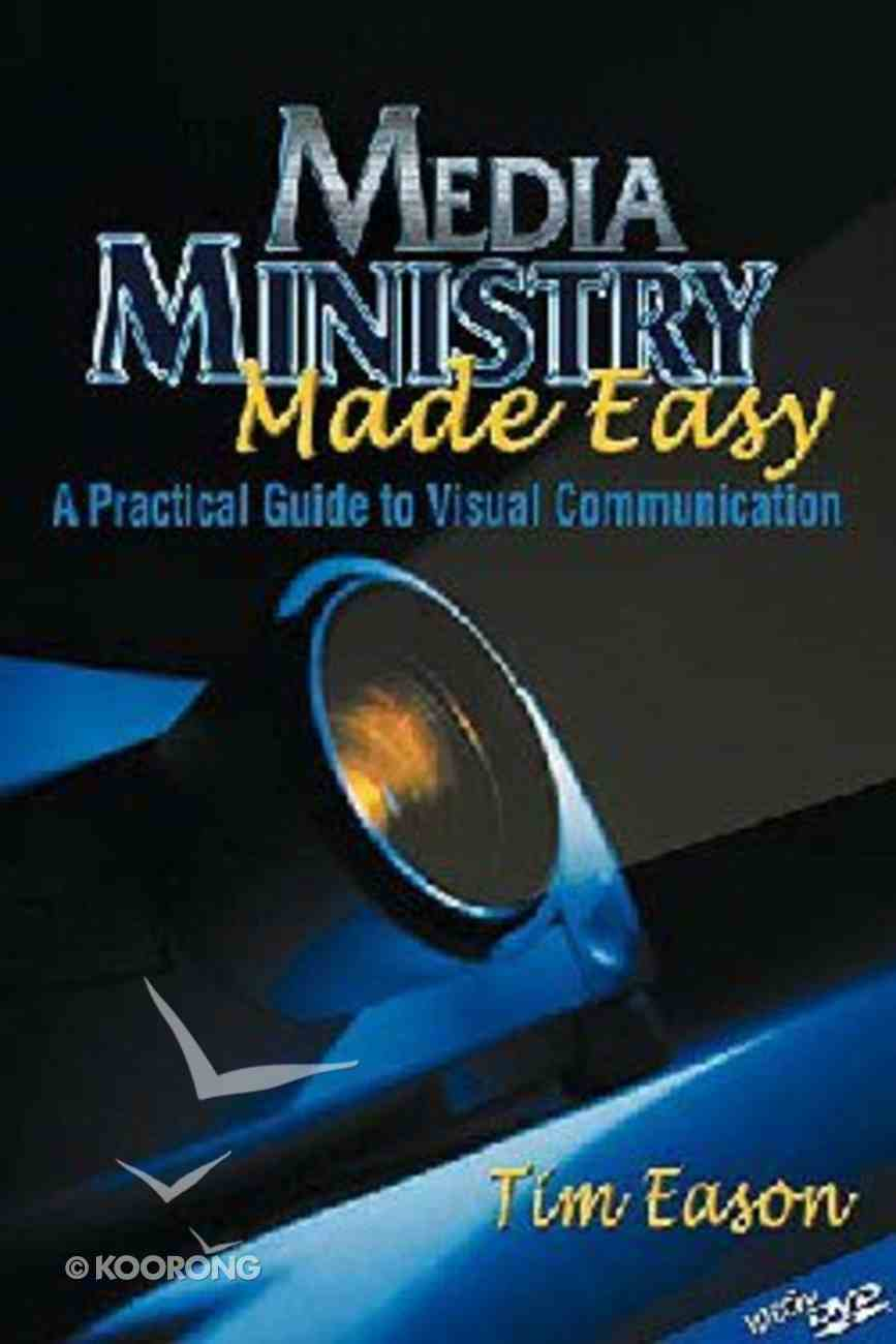 Media Ministry Made Easy (With Dvd) Paperback