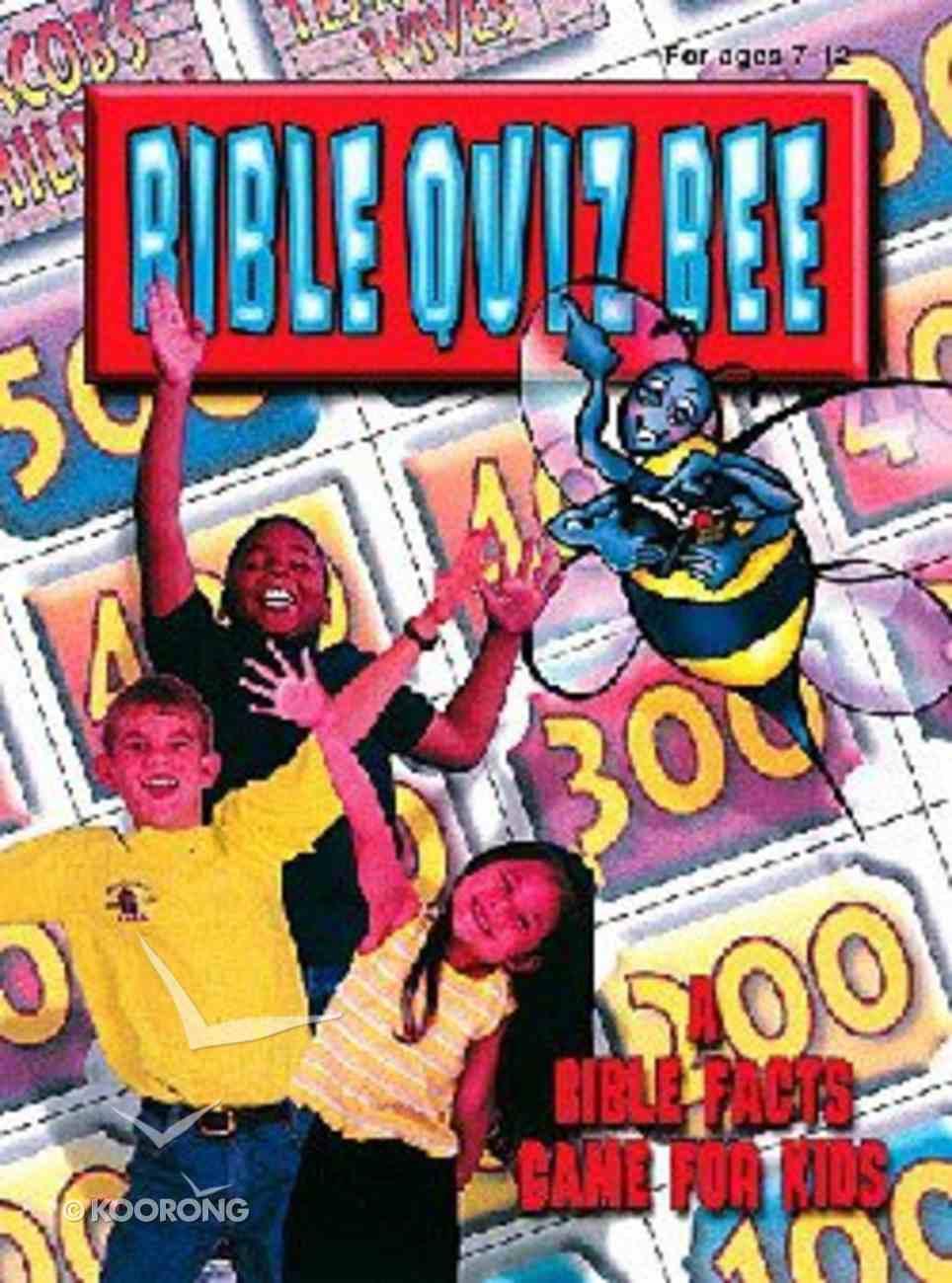 Bible Quiz Bee Paperback
