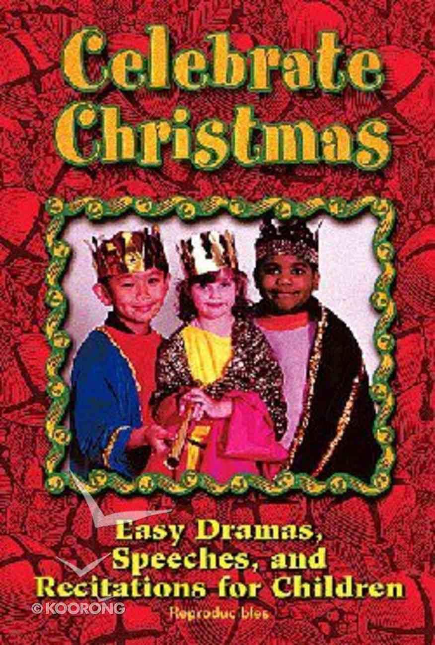 Celebrate Christmas Paperback