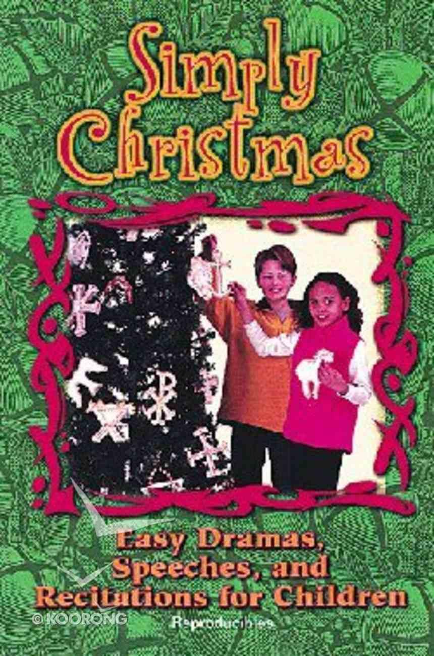 Simply Christmas Paperback