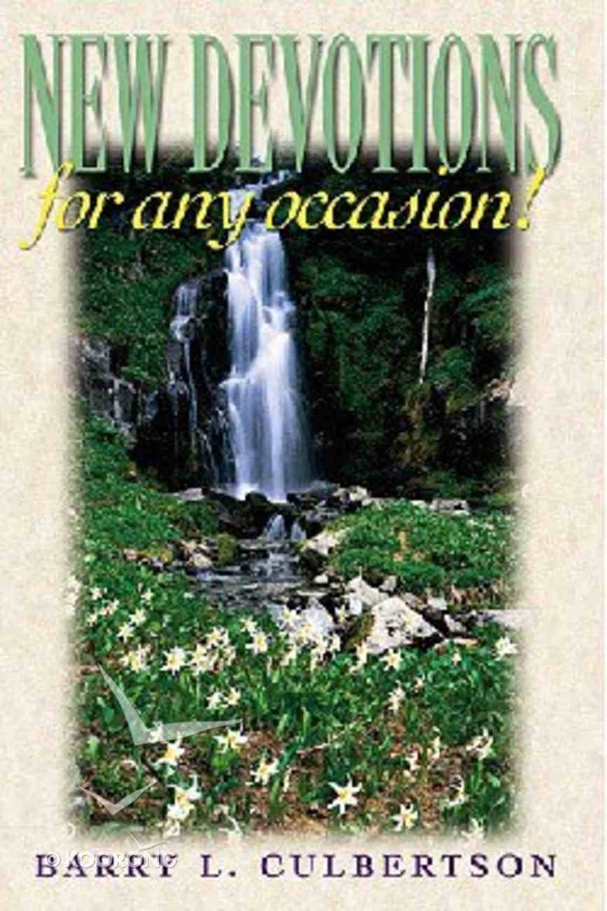 New Devotions For Any Occasion Paperback
