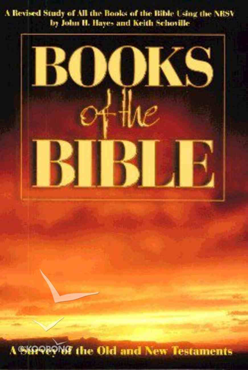 Books of the Bible Paperback