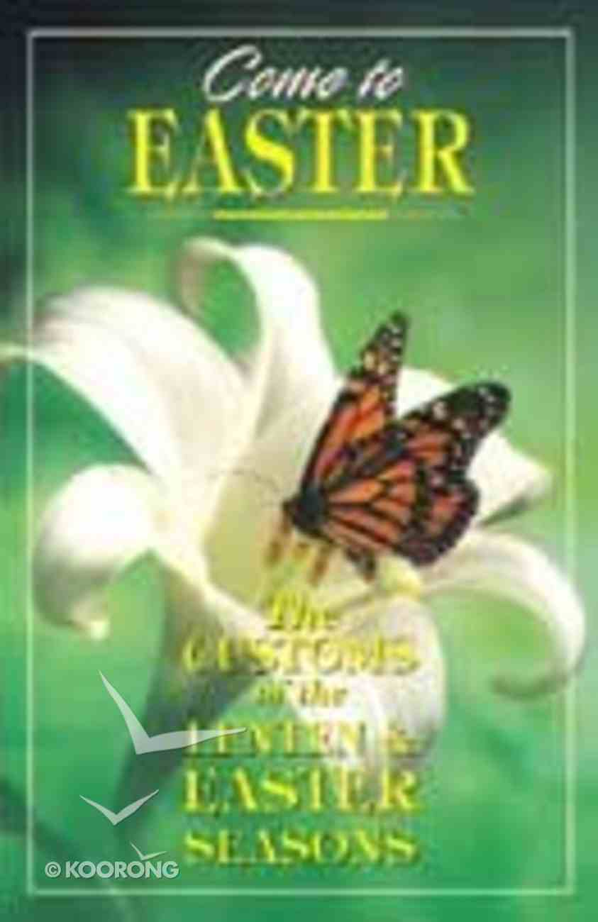 Come to Easter Paperback