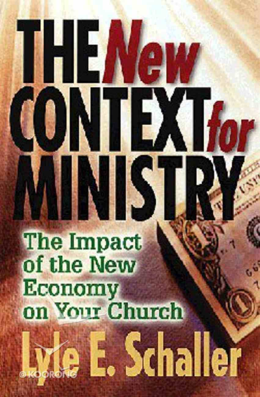 The New Context For Ministry Paperback