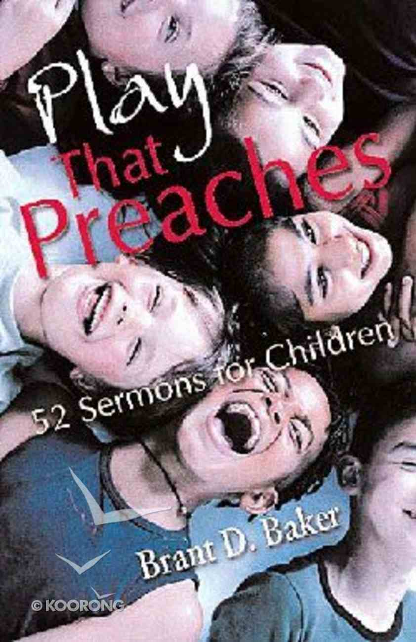Play That Preaches Paperback