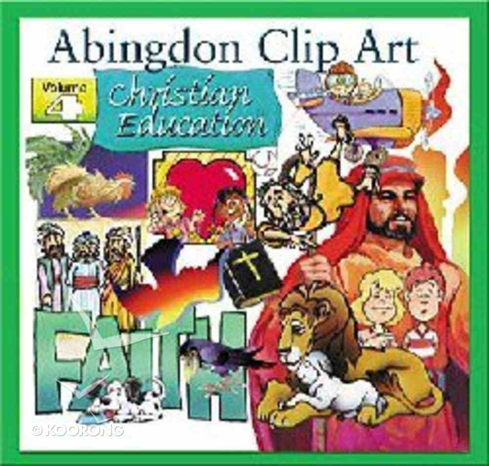 Abingdon Clip Art #04: Christian Education CDROM Win/Mac CD-rom