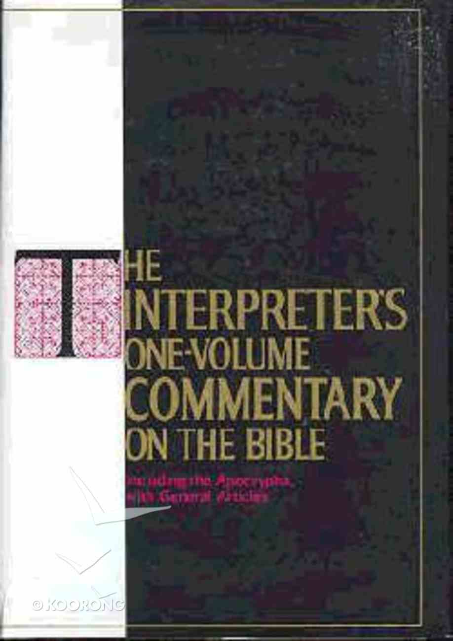 The Interpreter's One-Volume Commentary on the Bible Hardback