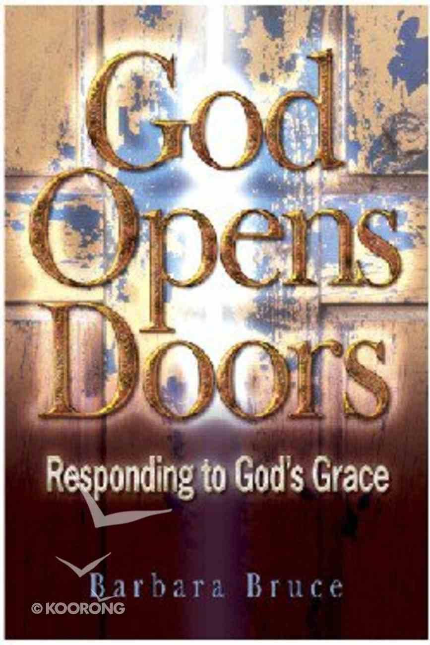 God Opens Doors Paperback