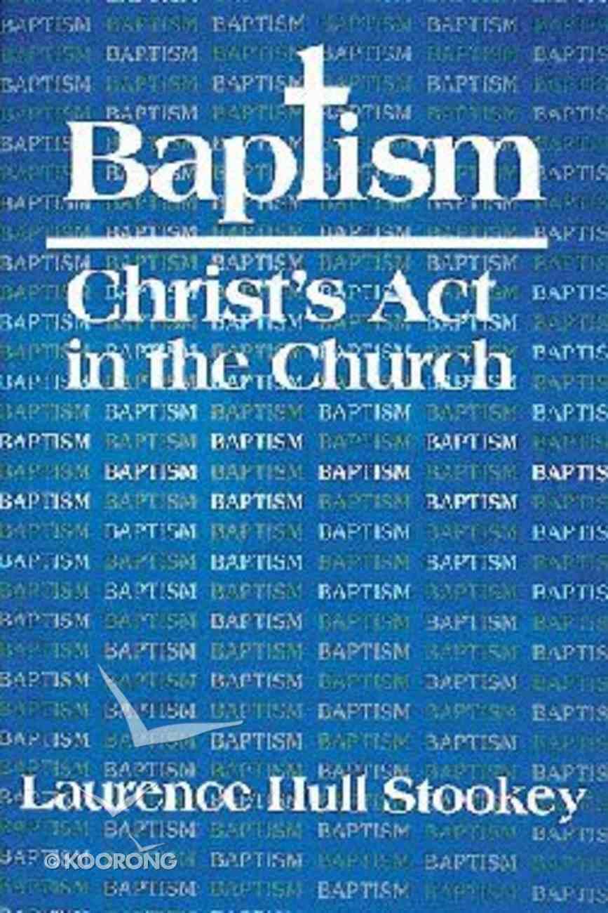Baptism, Calendar and Eucharist (3 Vol Set) Paperback