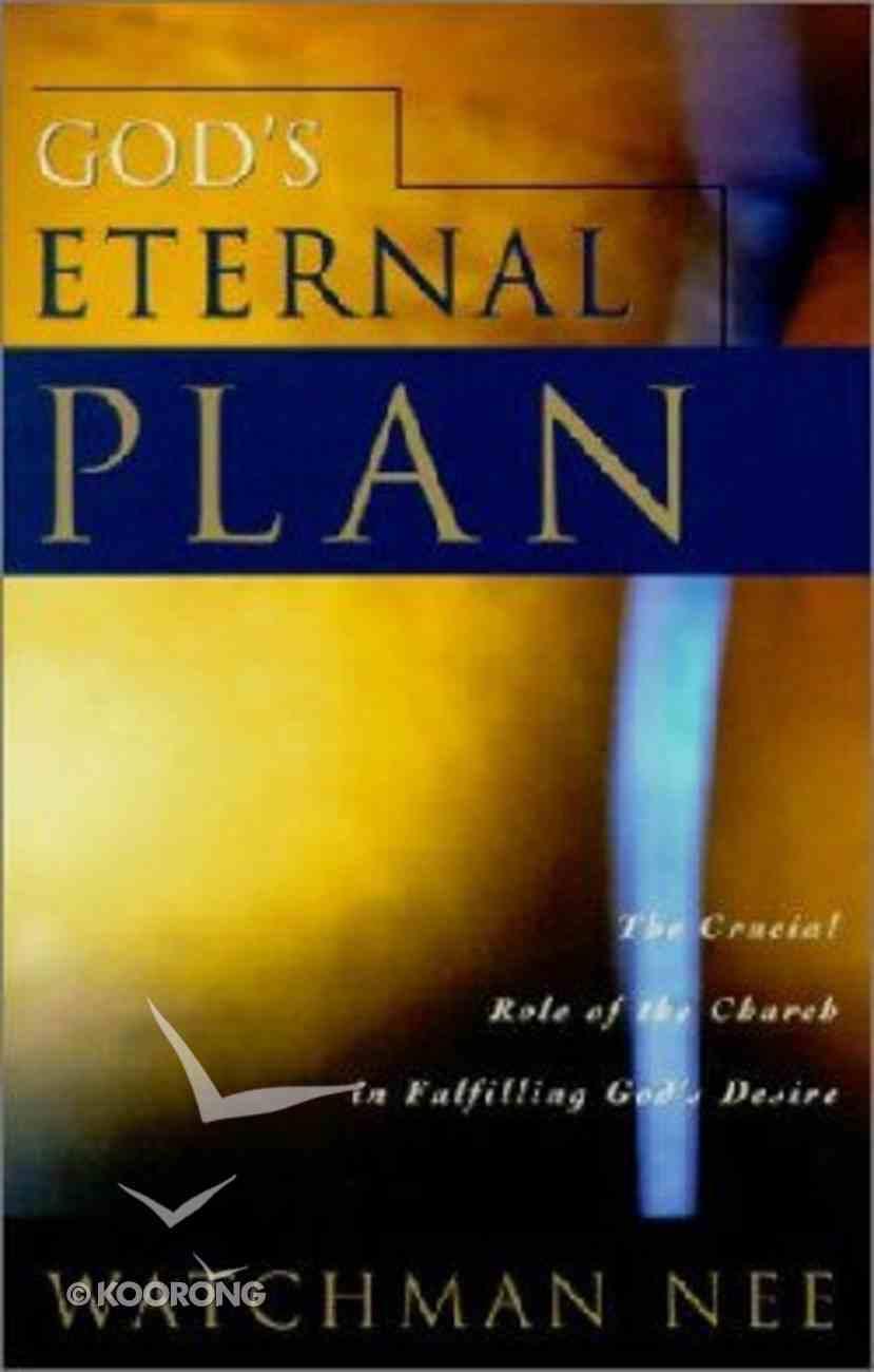 God's Eternal Plan Paperback