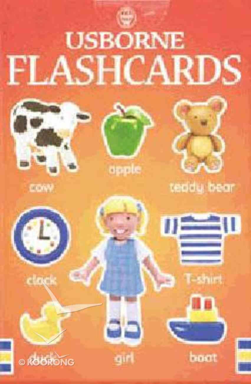Everyday Words English Flashcards Paperback
