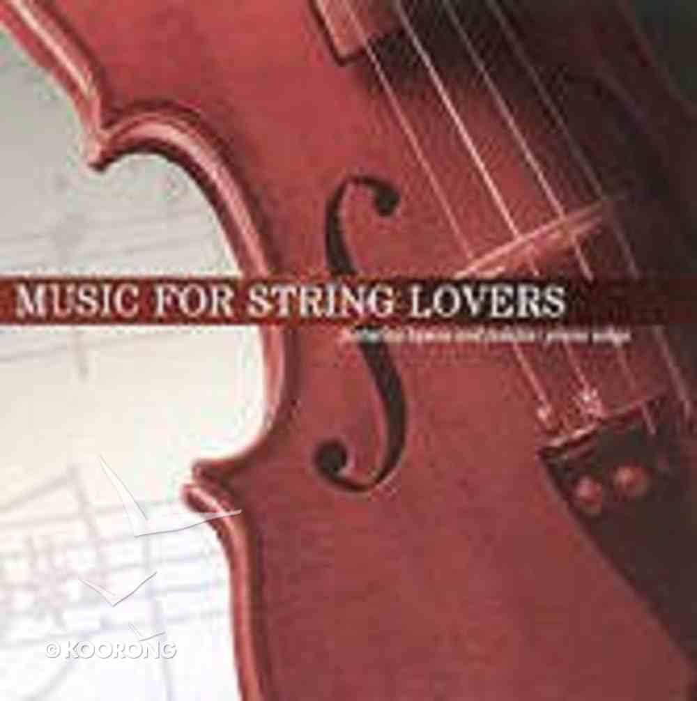 Music For String Lovers CD