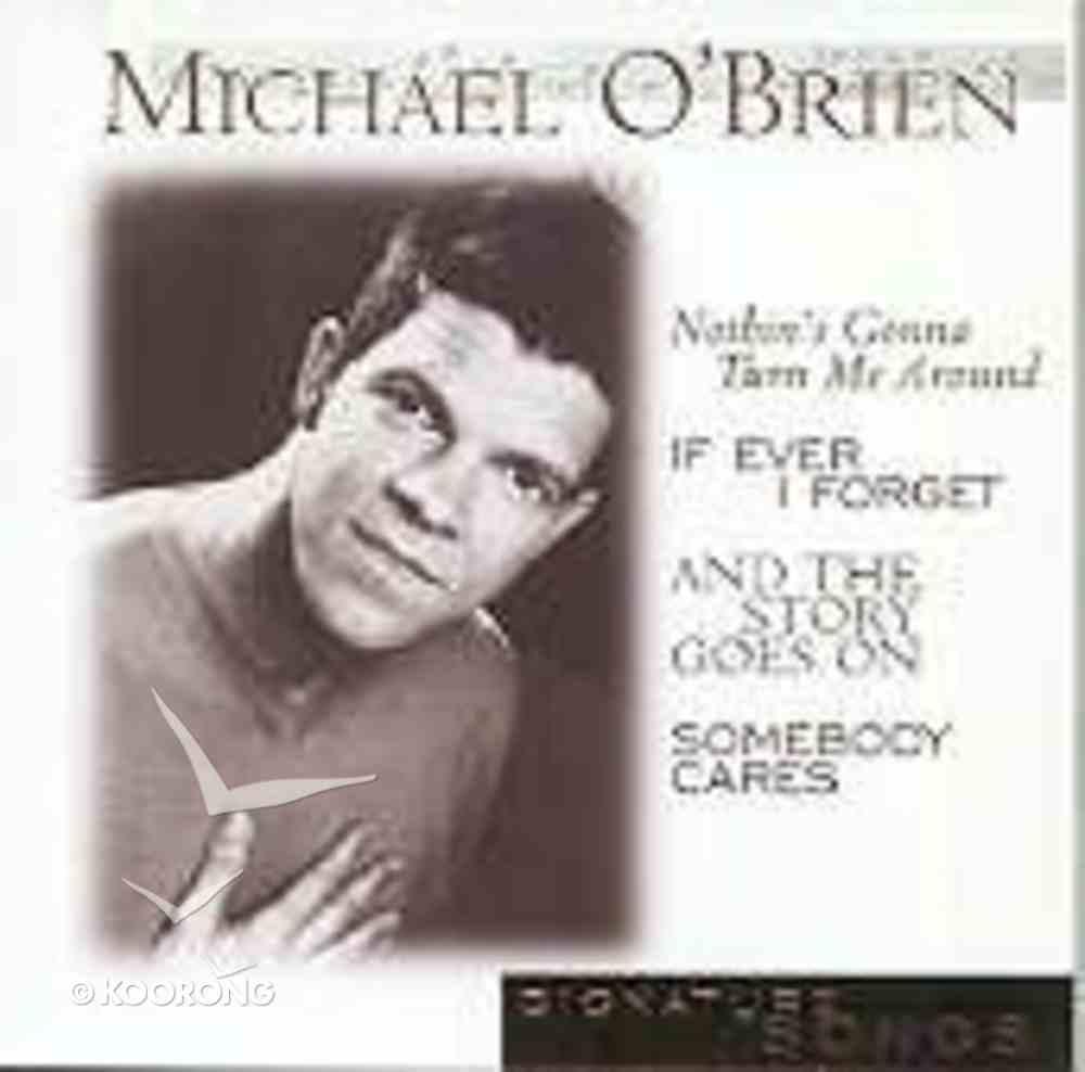 Michael O'brien (Signature Songs Series) CD