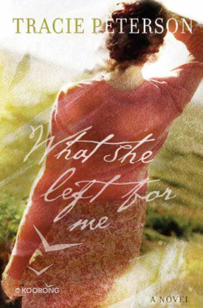 What She Left For Me (Large Print) Paperback