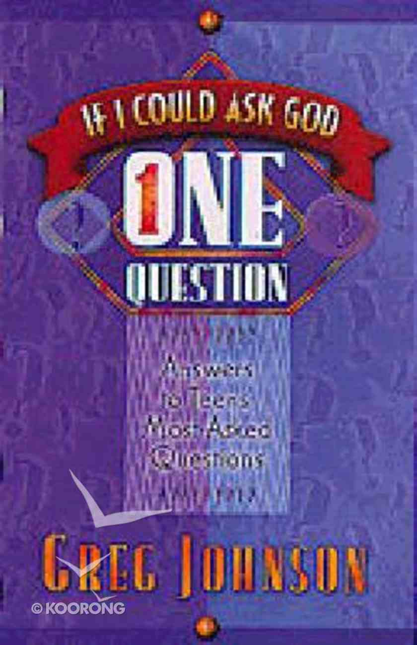If I Could Ask God One Question Paperback