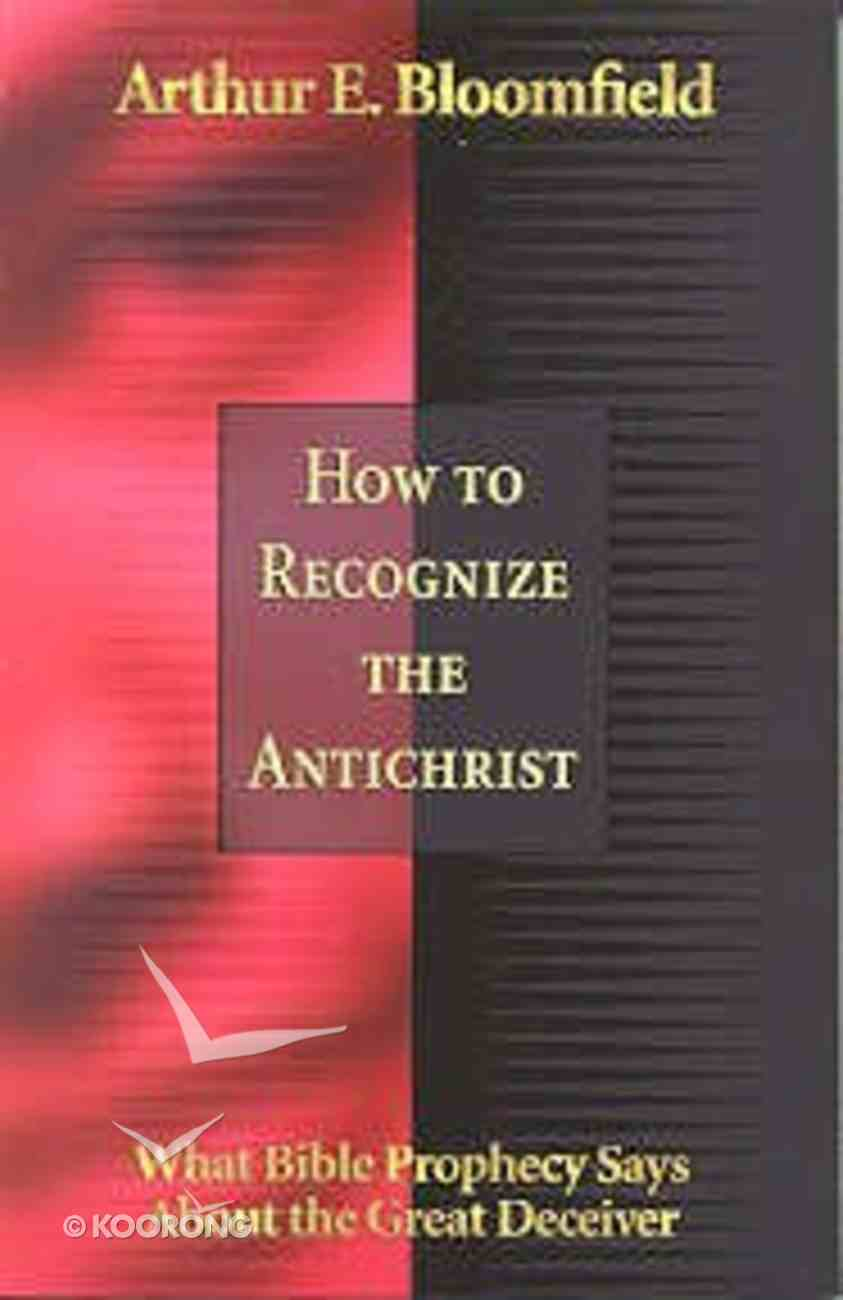 How to Recognize the Antichrist Paperback