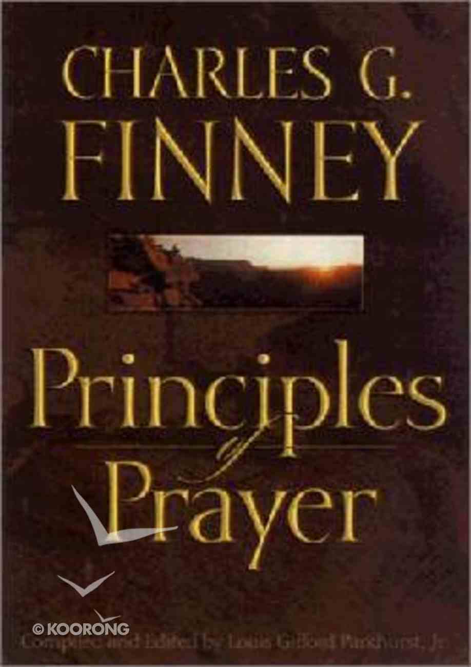 Principles of Prayer Paperback