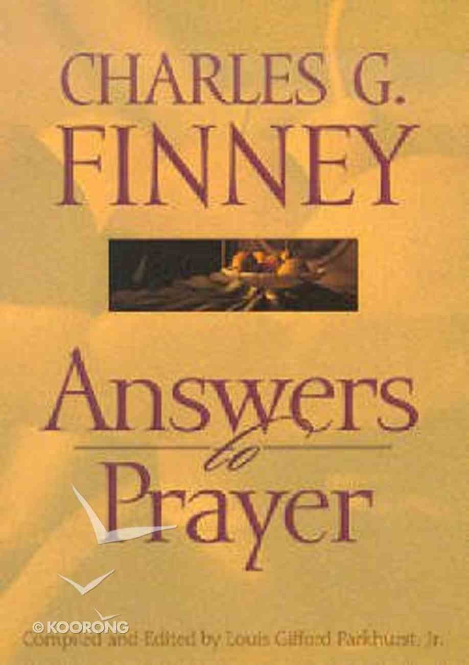 Answers to Prayer Paperback