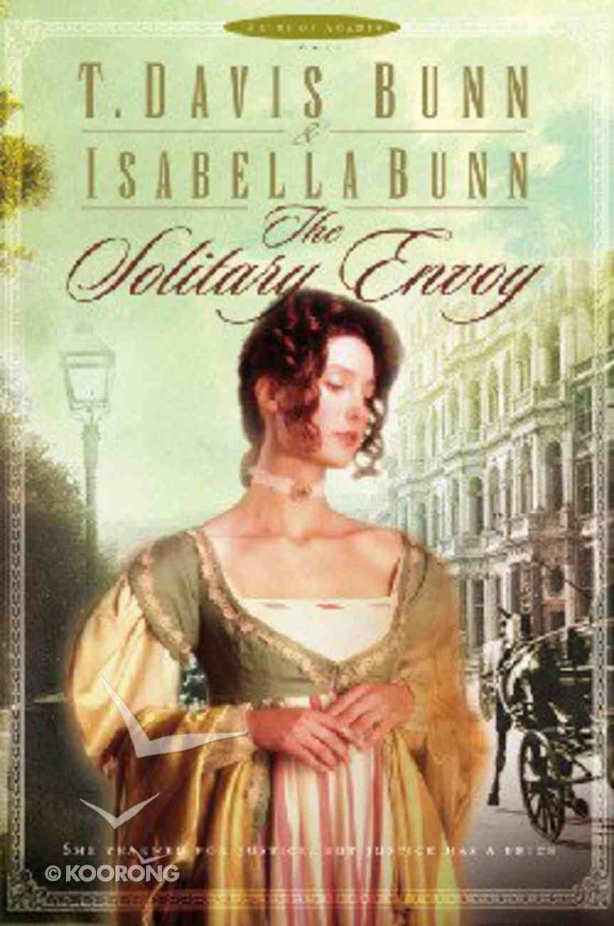 The Solitary Envoy (Large Print) (#01 in Heirs Of Acadia Series) Paperback