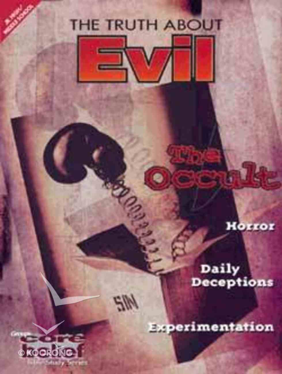 Cbjh Truth About Evil Paperback