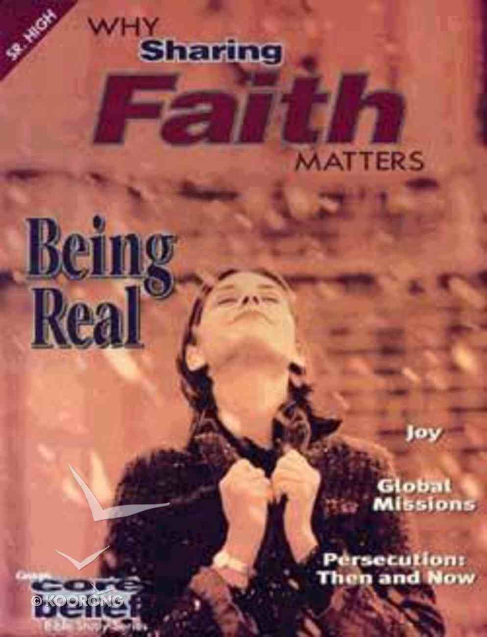 Cbsh Why Sharing Faith Matters Paperback