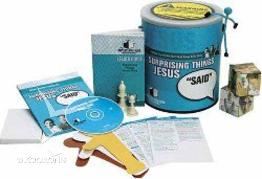 """Out of the Box Bible Studies: Surprising Things Jesus """"Said"""" Pack"""