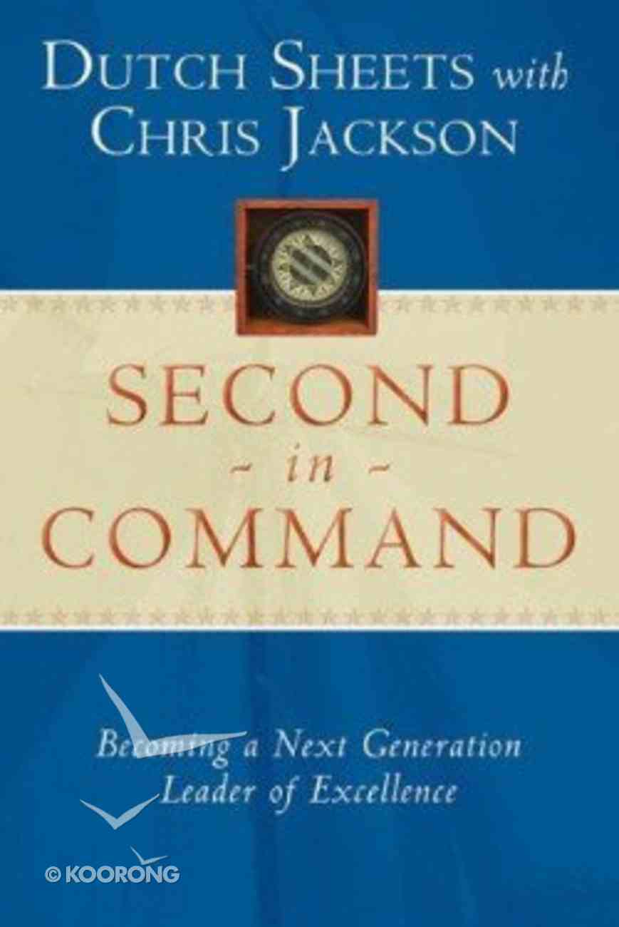 Second in Command Paperback
