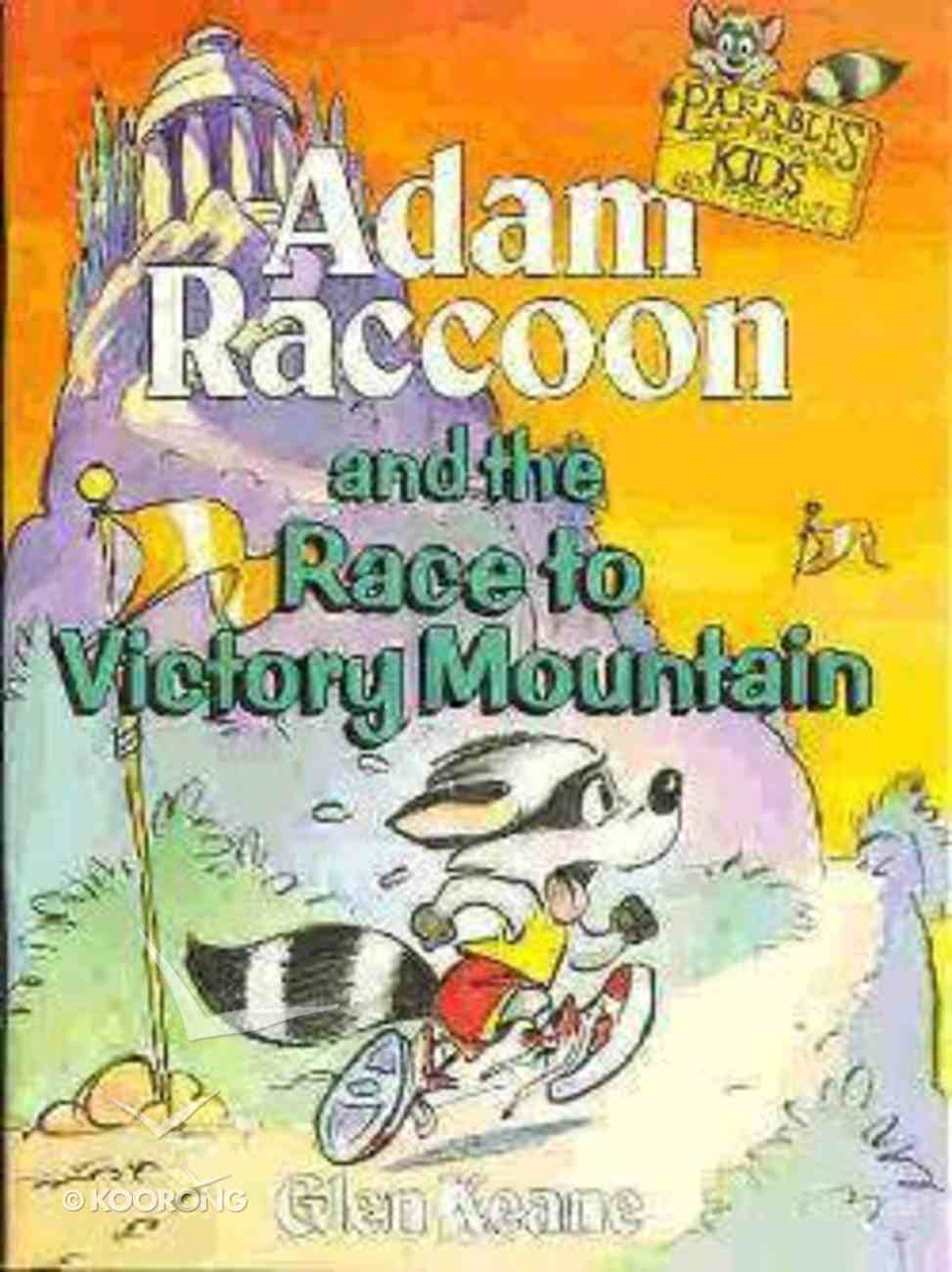 Adam Raccoon and the Race to Victory Mountain Paperback